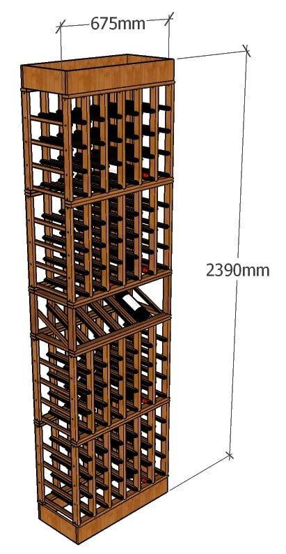 2400 Wine Rack iso