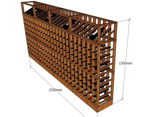 Wine Rack Design 2700mm