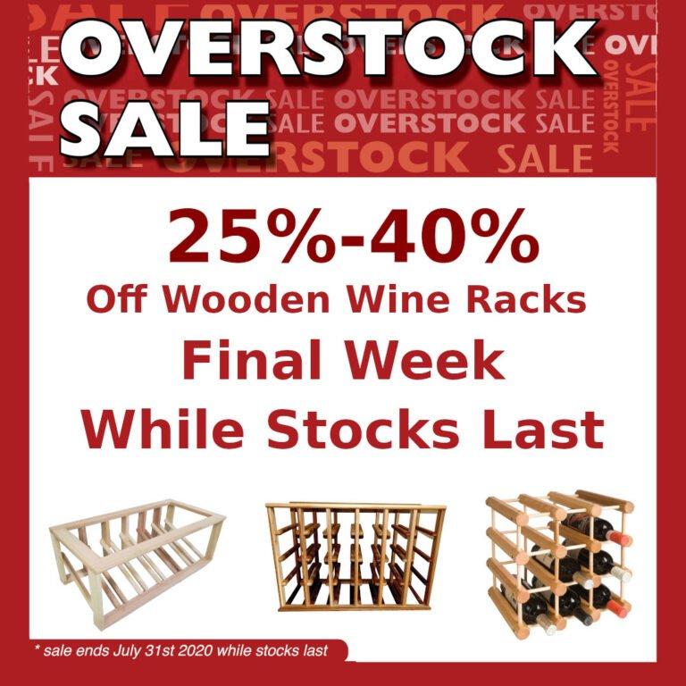 OVERSTOCK Sale Final Week