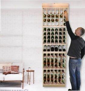 Display Wine Rack 2400