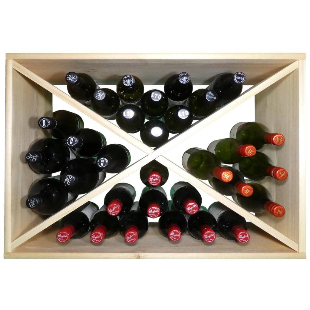 Diamond Wine Rack