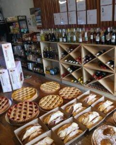 Cannoli 73 Café Wine Racking