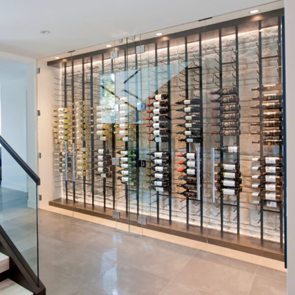 36 Bottle Metal Wine Rack.