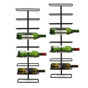 9 Bottle Steel Rack