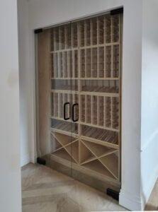 Timber Cellar Room Cupboard