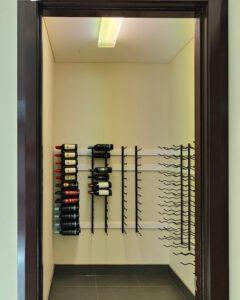 Metal Wine Cellar Racking